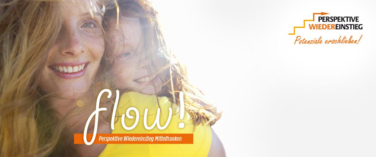 flow! Perspektive Wiedereinstieg Mittelfranken